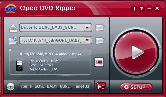 Open DVD ripper 1.70